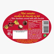 Mini hazelnuts coated in milk chocolate Maxim's
