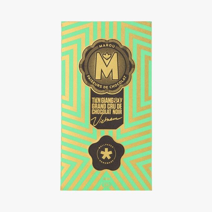 Tiêng giang 80 % Grand Cru de chocolat noir - Vietnam Marou