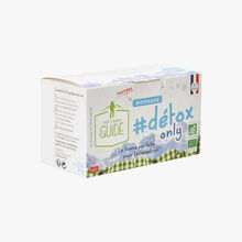"Infusion ""#detox only"" - 20 teabags La Tisane du Guide"