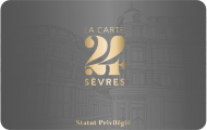 Carte Statut Privilégié