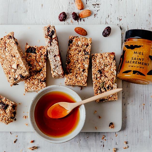 barres de céréales miels
