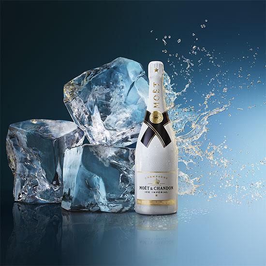 la grande épicerie champagne actu Champagne Moët Ice Impérial : la cuvée d'été à déguster sur glace