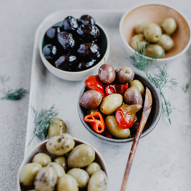 la grande épicerie et les olives