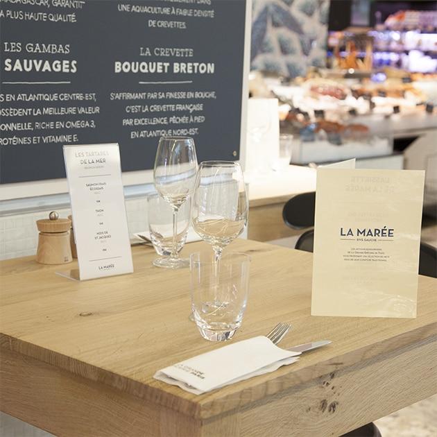 Nos restaurants - La Grande Epicerie - La marée