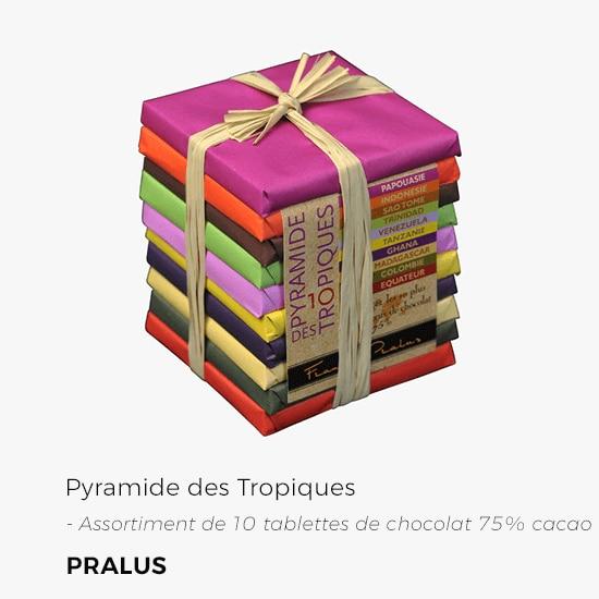 La Grande Épicerie de Paris - Pyramide de chocolat