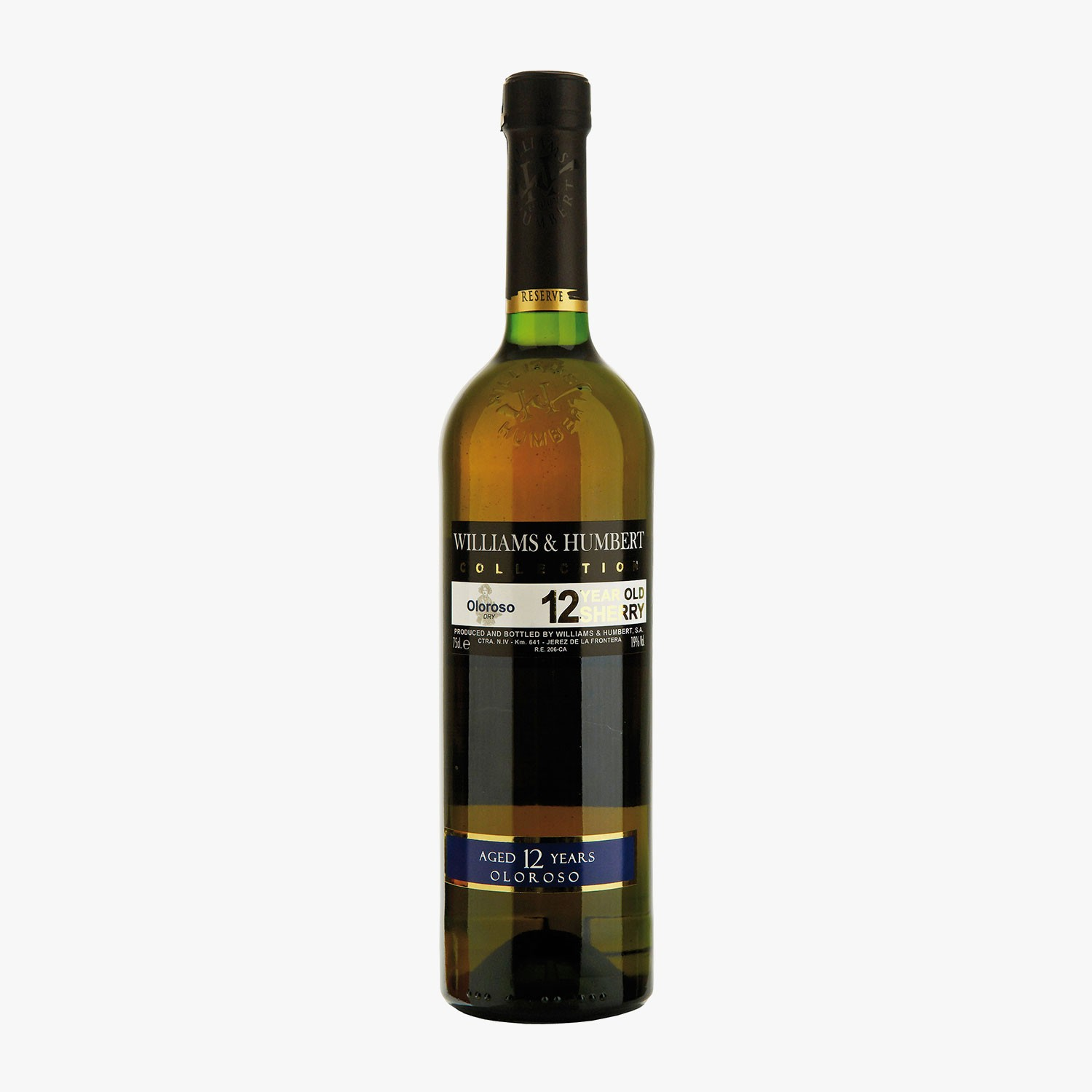 Xeres oloroso 12 ans, Williams &  Humbert, , hi-res