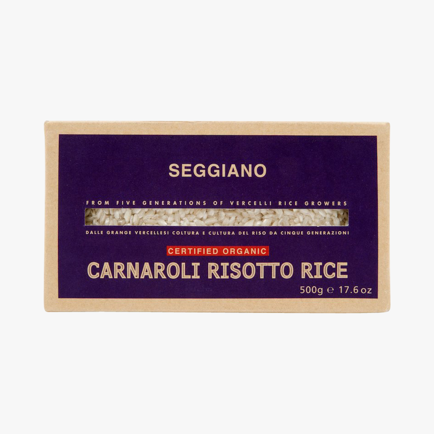Organic Carnaroli rice for risotto, , hi-res
