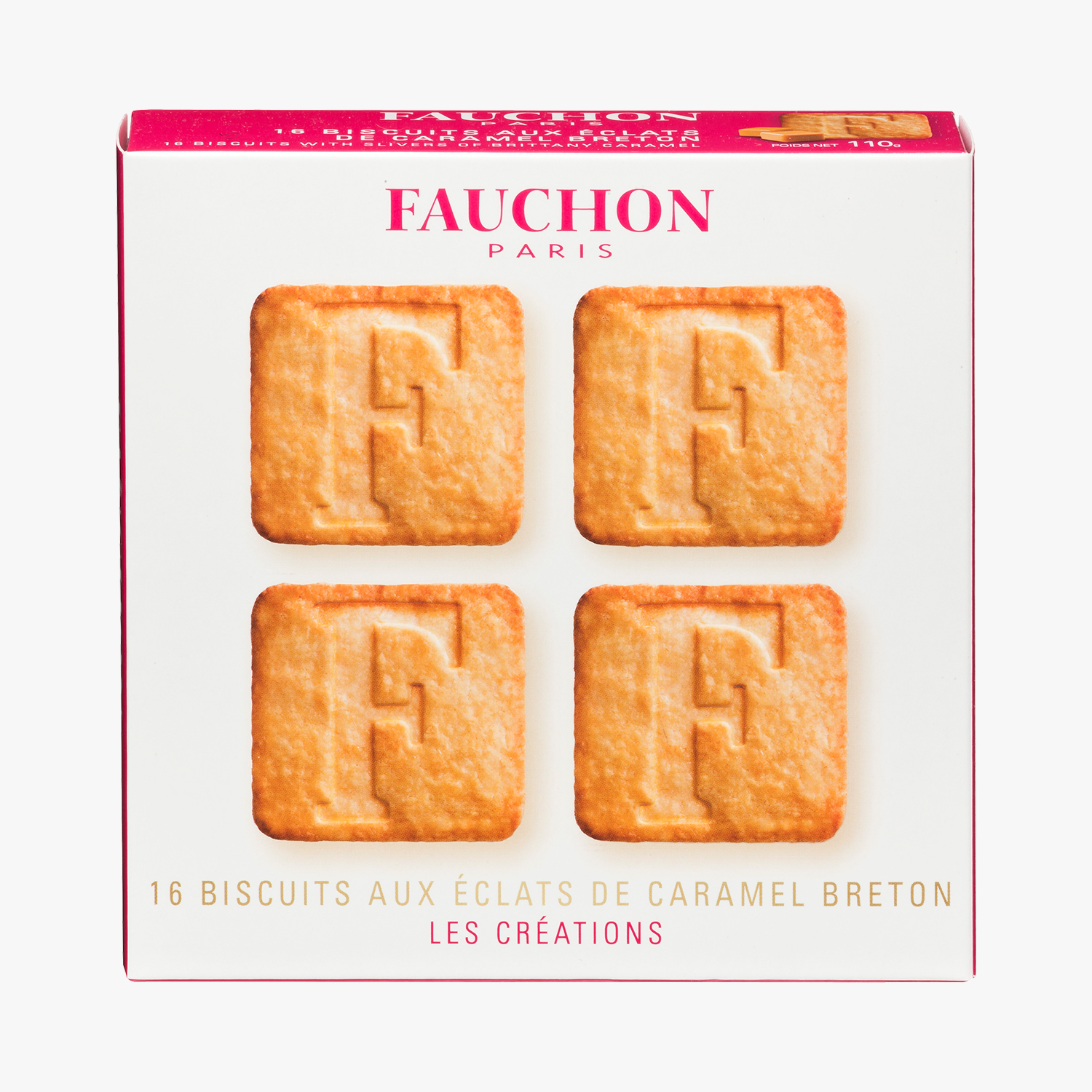 16 biscuits with Breton caramel chips, , hi-res