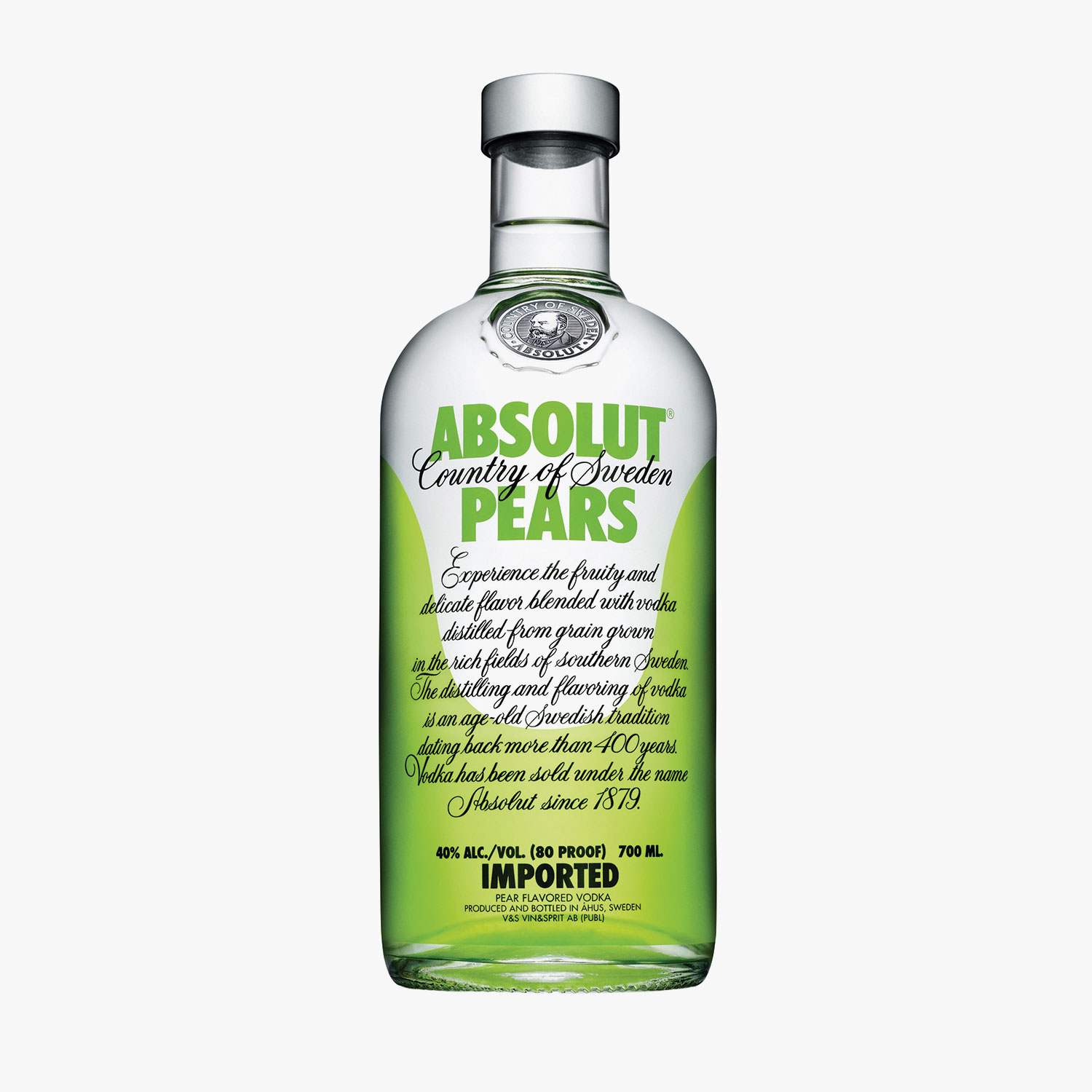 Vodka Absolut Pears, , hi-res
