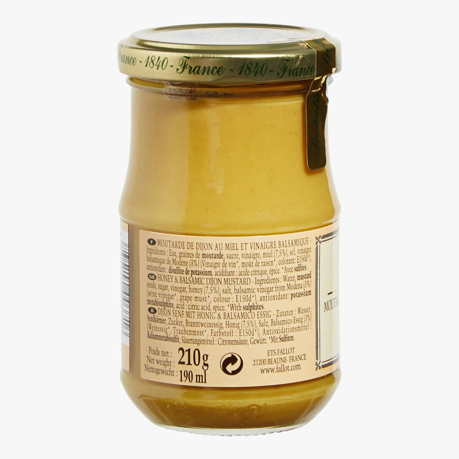 Dijon mustard with honey and balsamic vinegar, , hi-res