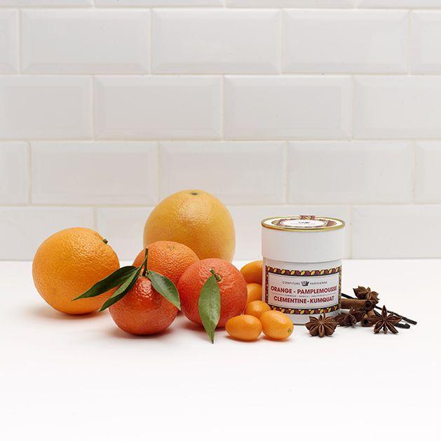 Confiture parisienne - orange