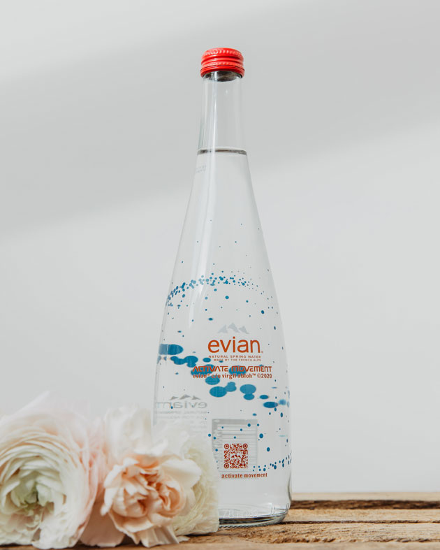 Evian Collaboration Virgil Abloh