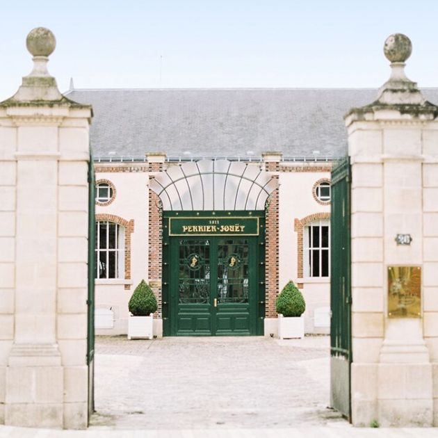 La maison Perrier-Jouët - Champagne