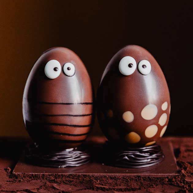 Pâques 2020 - DUO chocolats - création