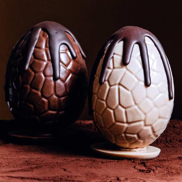 Pâques 2020 - Oeufs en chocolats