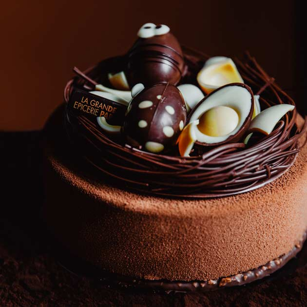 Pâques 2020 - Gateau chocolat individuel