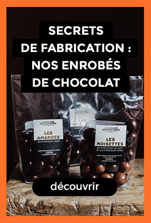 Enrobées de chocolats